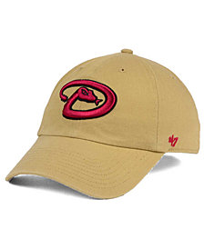 '47 Brand Arizona Diamondbacks Khaki CLEAN UP Cap