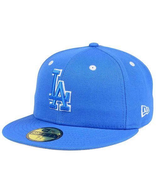 New Era Los Angeles Dodgers Pantone Collection 59FIFTY Cap - Sports ... d84e931adbc