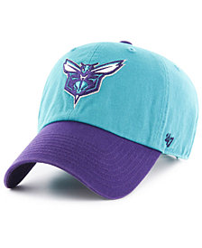 '47 Brand Charlotte Hornets 2-Tone Clean Up Cap