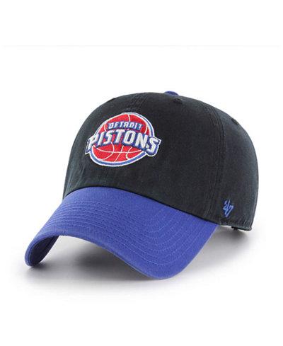 '47 Brand Detroit Pistons 2-Tone Clean Up Cap