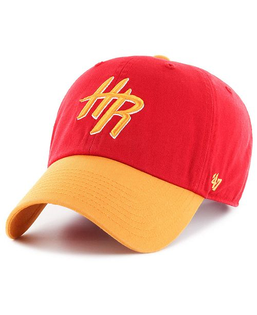 the latest 210d4 4bc6b ...  47 Brand Houston Rockets 2-Tone Clean Up Cap    ...
