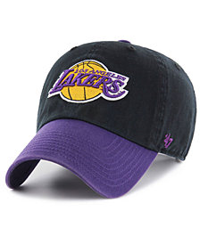'47 Brand Los Angeles Lakers 2-Tone Clean Up Cap
