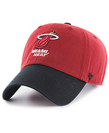 '47 Brand Miami Heat 2-Tone Clean Up Cap