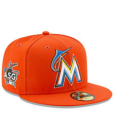 New Era Kids' Miami Marlins 2017 Miami ASG Patch 59FIFTY Cap