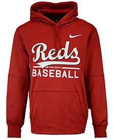 Nike Men's Cincinnati Reds Therma Hoodie