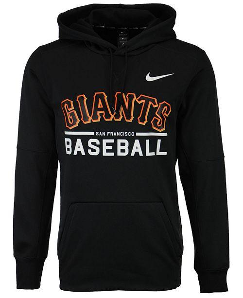 cbd3b066fac1 Nike Men s San Francisco Giants Therma Hoodie   Reviews - Sports Fan ...