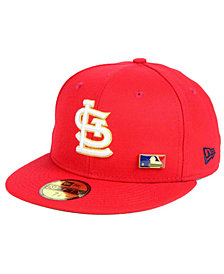 New Era St. Louis Cardinals Metal Man 59FIFTY Cap