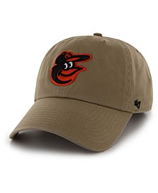 Baltimore Orioles Khaki CLEAN UP Cap