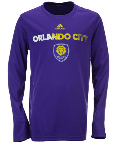adidas Orlando City SC Striker T-Shirt, Big Boys