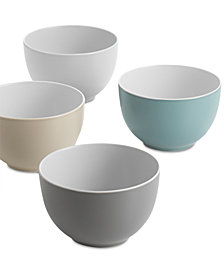 Nambé Pop Collection by Robin Levien 4-Pc. Small Bowl Set