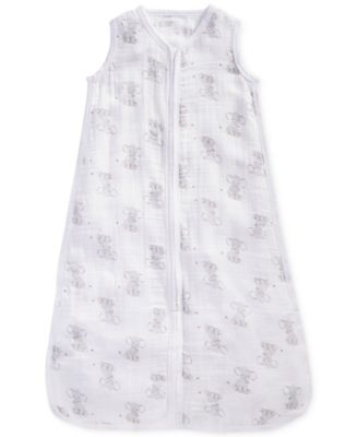 Baby Boys & Girls Elephant-Print Cotton Sleeping Bag