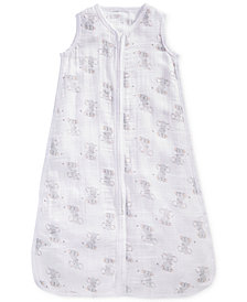 aden by aden + anais Elephant-Print Cotton Sleeping Bag, Baby Boys & Girls