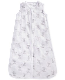 aden by aden + anais Baby Boys & Girls Elephant-Print Cotton Sleeping Bag