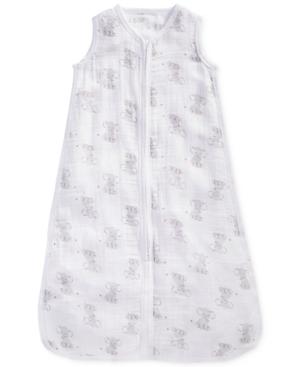 aden by aden  anais ElephantPrint Cotton Sleeping Bag Baby Boys  Girls (024 months)