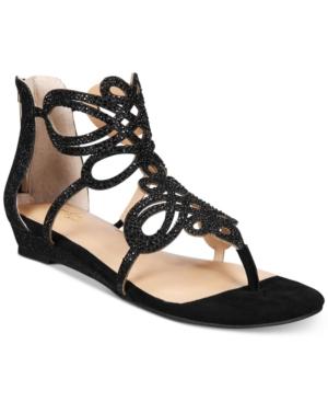 Thalia Sodi Laylan Scallop Wedge Sandals, Created for Macy
