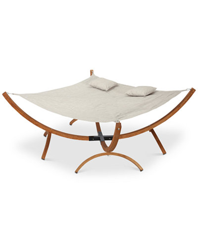 Akren Square Hammock with Stand, Quick Ship