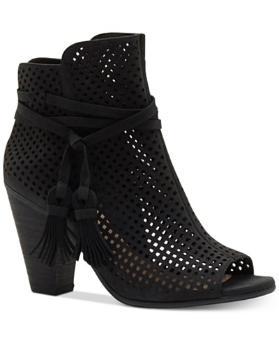Vince Camuto Kamey Perforated Booties