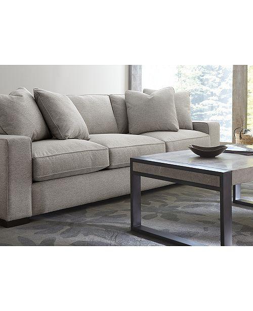 "Furniture Bangor 81"" Fabric Apartment Sofa, Created For"