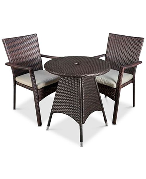 Noble House Chiese 3-Pc. Dining Set