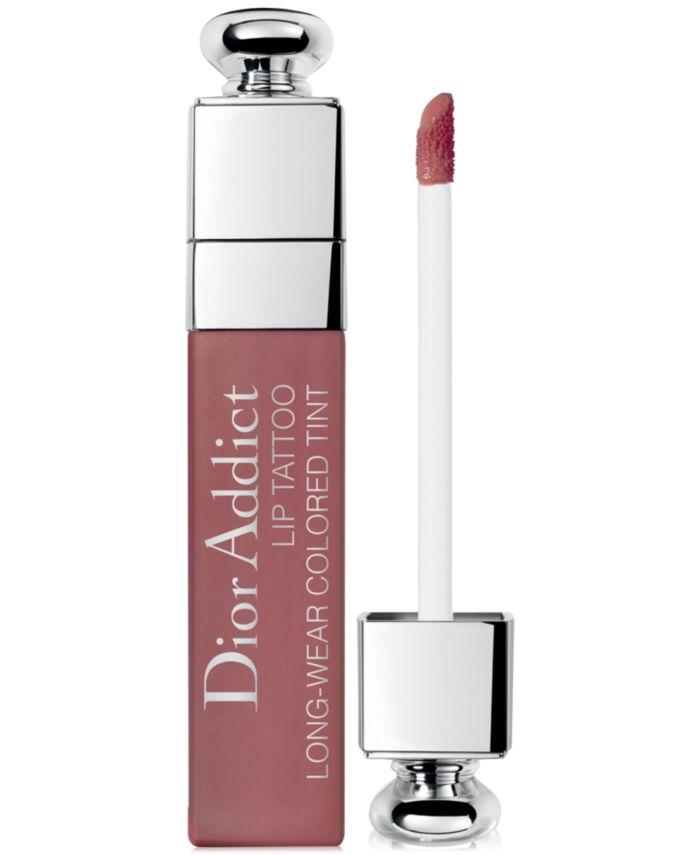 Dior Dior Addict Lip Tattoo Colored Tint, 0.2 oz & Reviews - Makeup - Beauty - Macy's