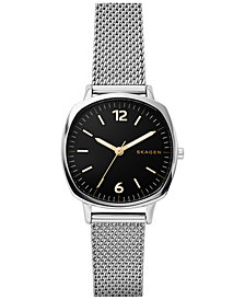 Skagen Women's Rungsted Stainless Steel Mesh Bracelet Watch 30x30mm SKW2628