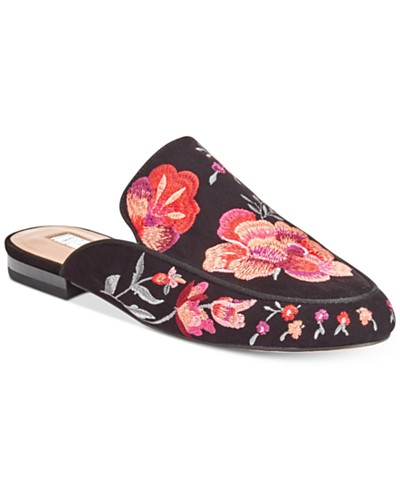 Anna Sui Loves INC International Concepts Gannie Slide-On Mules, Created for Macy's