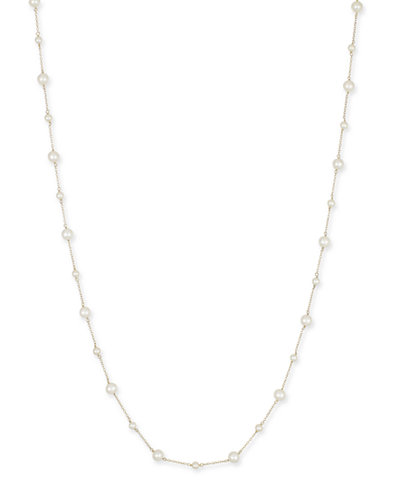 Cultured Freshwater Pearl (4-1/2mm & 7mm) Chain 54