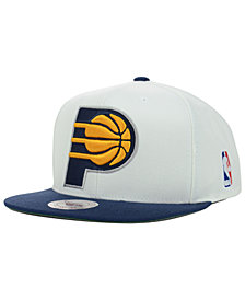 Mitchell & Ness Indiana Pacers XL Logo Snapback Cap