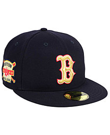 New Era Boston Red Sox Exclusive Gold Patch 59FIFTY Cap