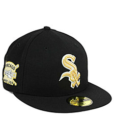 New Era Chicago White Sox Exclusive Gold Patch 59FIFTY Cap