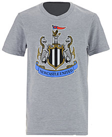 Outerstuff' Newcastle United FC Club Team Primary Logo T-Shirt, Big Boys (8-20)