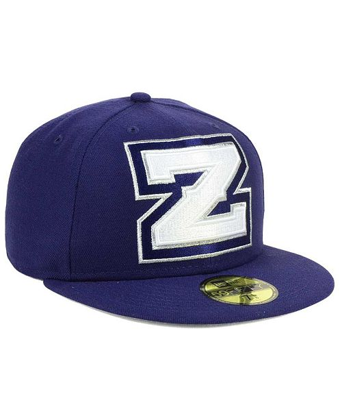582cde5079deb ... New Era New Orleans Zephyrs MiLB Logo Grand 59FIFTY Fitted Cap ...