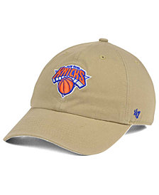 '47 Brand New York Knicks Khaki CLEAN UP Cap