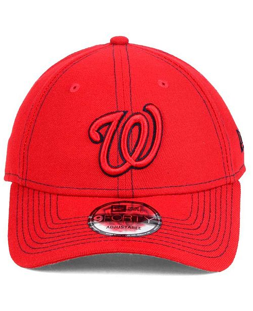 cf14dc45519cd New Era Washington Nationals The League Classic 9FORTY Adjustable ...