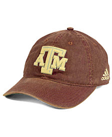 adidas Texas A&M Aggies Over Dye Slouch Cap