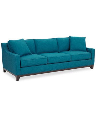 Keegan sofa keegan 90 2 piece fabric sectional sofa custom for Keegan 2 piece sectional sofa