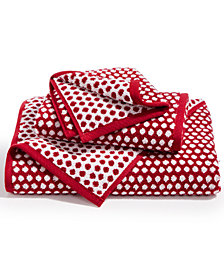 Charter Club Elite Cotton Fashion Dot Bath Towel, Created for Macy's