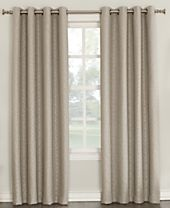 Sun Zero Tullis Puckered Blackout Lined Grommet Curtain Panel Collection