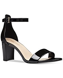 Pruce Block-Heel Sandals