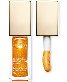 Clarins Shimmer & Shine Instant Light Lip Comfort Oil, 0.1-oz.