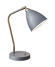 Adesso Chelsea Desk Lamp with USB Port