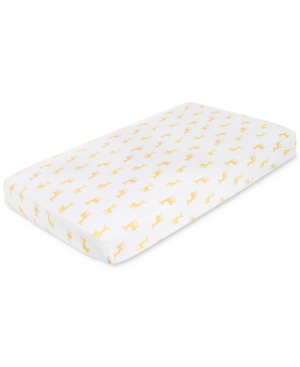 aden by aden  anais GiraffePrint Cotton Crib Sheet Baby Boys  Girls (024 months)