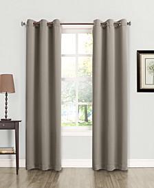 "Tabbey Room Darkening Grommet 40"" x 95"" Curtain Panel"