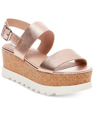 Steve Madden Women's Krista Flatform Sandals - Sandals - Shoes ...