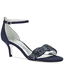 Adrianna Papell Aerin Evening Dress Sandals