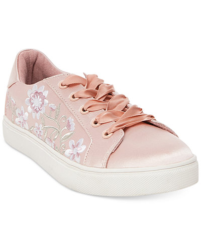 Betsey Johnson Darbi Lace-Up Sneakers