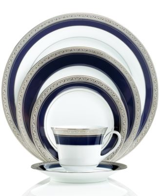 Crestwood Cobalt Platinum After Dinner Cup & Saucer