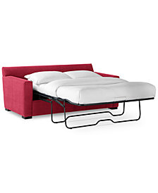 "Radley 74"" Fabric Full Sleeper Sofa Bed - Custom Colors, Created for Macy's"