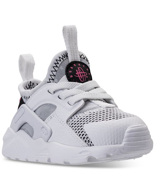 a7b346b6b1 ... Nike Toddler Girls' Air Huarache Run Ultra Running Sneakers from Finish  Line ...