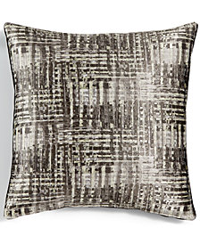 "LAST ACT! Hallmart Collectibles Jacquard 20"" Square Decorative Pillow"